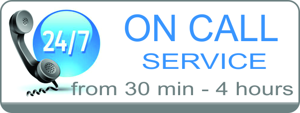 ON-CALL Service From 30Mins - 4Hours